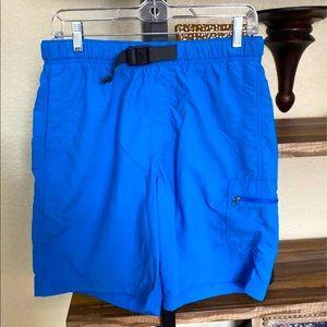 Columbia Hybrid Shorts Blue Small